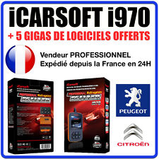 Valise Diagnostique PEUGEOT et CITROEN - iCarSOFT I970 PSA DIAG PP BOX