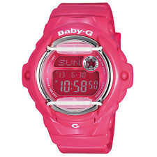 CASIO BABY GSHOCK BG169R-4B PINK DIGITAL LADIES WATCH