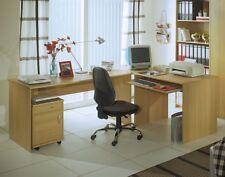 Eckschreibtisch Büro Bürotisch Schreibtisch Arbeitstisch OFFICE COMPACT Buche