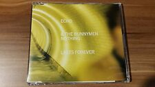 ECHO and The Bunnymen-nothing last forever (yellow sleeve) (1997) (loncd 396)