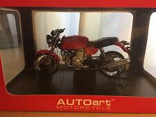 Autoart 1:12 Scale Diecast Motorcycle - Ducati GT 1000 Red - NEW!