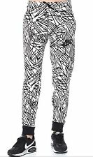 BNWT Women's Nike Rally Printed Jogger Pants White Black sz S