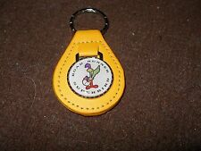 1969 1970 PLYMOUTH ROAD RUNNER SUPERBIRD BIRD LOGO KEYCHAIN YELLOW
