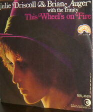 "JULIE DRISCOLL & BRIAN AUGER WITH THE TRINITY  7""  THIS WHEEL' ON FIRE ( DYLAN )"