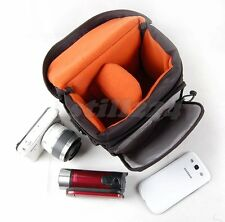 Sigma SD1 SD15 Camera Case Bag Shoulder Strap Memory Card Battery Mobile Pocket