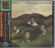 Natural Four HEAVEN RIGHT HERE ON EARTH 2001 VICTOR [JAPAN] CD SEALED OOP RARE
