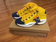 Reebok Iverson Question OG size 12.5 DS All Star 2000 Unworn Yellow