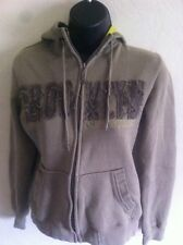 Green Women's BROOKLYN Industry Hoodie Size M  Thick Warm Cotton GXN