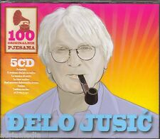 Djelo Jusic 5 CD Box 100 originalnih pjesama Croatia Dubrovacki trubaduri Best