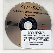 (FU407) Kyneska, Sunrise On The Moon - 2014 DJ CD