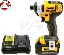 "NEW DeWALT DCF885 20V 20 Volt Max Lithium Ion 1/4"" Impact Drill Driver Kit"