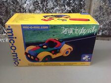 Mic-O-Mic Racing car auto da corsa   Kit By Schafer Toy Germany #Nib