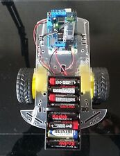 Android Robot 2WD Chasis RC Car Kit with BT hc-06 + Arduino UNO + L293D shield