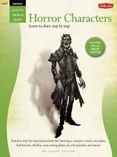 How To Draw And Paint - Drawing Horror Characters (2012) - Used - Trade Pap