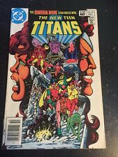 New Teen Titans#24 Incredible Condition 9.0(1982) Omega Men, Superman App,Perez!