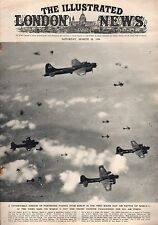1944 London News March 18-B17s Bomb Berlin; New Guinea;Victory in Ukraine;Ortona