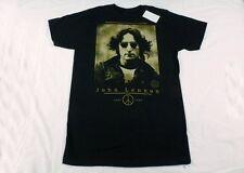 OFFICIAL BRAND New JOHN LENNON Black T -Shirt SMALL Anniversary Imagine Beatles