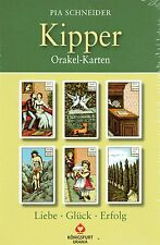 KIPPER ORAKEL-KARTEN - Karten & Buch Set von Pia Schneider NEU - OVP