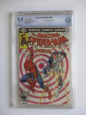 Amazing Spider-Man # 201 -CBCS NEAR MINT 9.8 NM- Punisher Cover & App! MARVEL