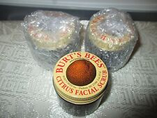 1x Burts Bees Citrus Facial scrub New/Sealed Lot of 1 Excellent product Natural