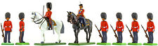 Britains Scots Guards at Ease with Queen - Painted Toy Soldiers set 000802
