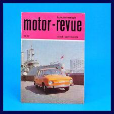 DDR - Motor-Revue 10-1977  (tschechoslowakische) Skoda Jawa  CZ Tatra