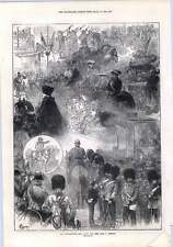 1872 Thanksgiving Day Scene From The Window