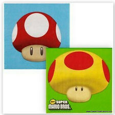 MARIO BROS NAPKINS Birthday Decoration Game Party Supplies Luigi Nintendo Lunch