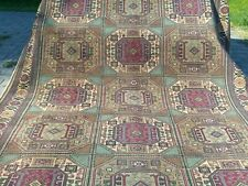 Geometric Patterned 1900-1939s Antique Exclusive 7x10ft Area Carpet Turkey