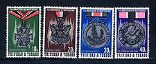 TRINIDAD & TOBAGO - 1973 - 11° anniversario dell'Indipendenza. Medaglie