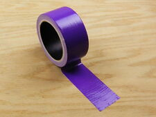 "2"" Purple Colored Duct Tape Colors Waterproof UV Tear Resistant 20 yd 60' Roll"