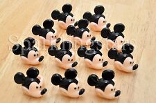 12 Mickey Mouse Cupcake Rings Birthday Party Favors Toppers