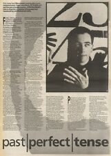 5/4/86PN39 ARTICLE MANCUNIAN PETE SHELLEY PAST PERFECT TENSE