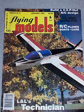 Flying Models Magazine January 1987