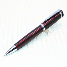 BAOER 508 Red wine colour Business office Medium Nib Ballpoint Pen New