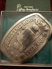 LIFFEY ARTEFACTS OF IRELAND - BLESS THIS HOUSE  TRIVET - NICE