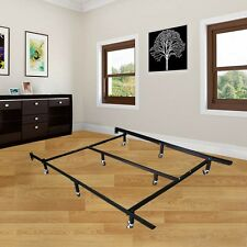 Platform Metal Bed Frame/Mattress Foundation Adjustable Queen/California King