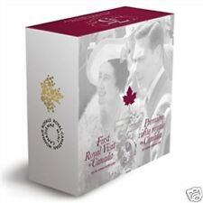2014 Canada $20 Fine Silver Dollar Coin 1st Royal Visit 75th Ann. Royal Train.