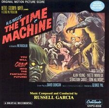 The Time Machine  GEORGE PAL/ ROD TAYLOR  Score] by R Garcia CD SEALED RARE ooP