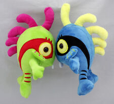 Blizzard World of Warcraft Murloc Plush Doll WOW Figure Blue & Green Set
