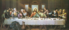 "40"" Large BEST ART #  The Last Supper oil painting ON CANVAS # FREE SHIPPING"