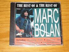 """NEW SEALED ROCK CD - """"THE BEST OF & THE REST OF MARC BOLAN"""""""
