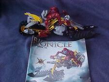Lego Bionicle CENDOX V1 Figure/bike Set 8992 100% Complete with  Instructions