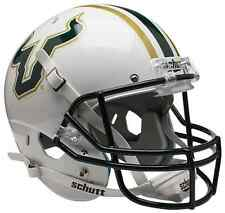 SOUTH FLORIDA BULLS Schutt AiR XP Full-Size REPLICA Football Helmet USF (WHITE)