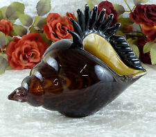 Glasmuschel Murano cáscara vaso de cristal arte concha strandmuschel cuenco de vidrio