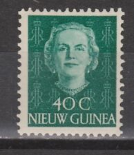 Indonesia Nederlands Nieuw New Guinea 14 MLH 1950 Juliana