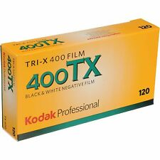 Kodak Tri-x TX-120 400 ISO Black and White Negative Film, 5 Pack