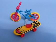 Playmobil Child's Bike Stand & Skateboard  - park dolls house toys  NEW