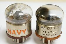 JAN CRP 717A VT-269 Raytheon Western Electric lots of 2