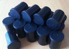 20 NEUE schwarze Filmdosen Geocaching Micro (Rascheldosen, Geocache, Montessori)